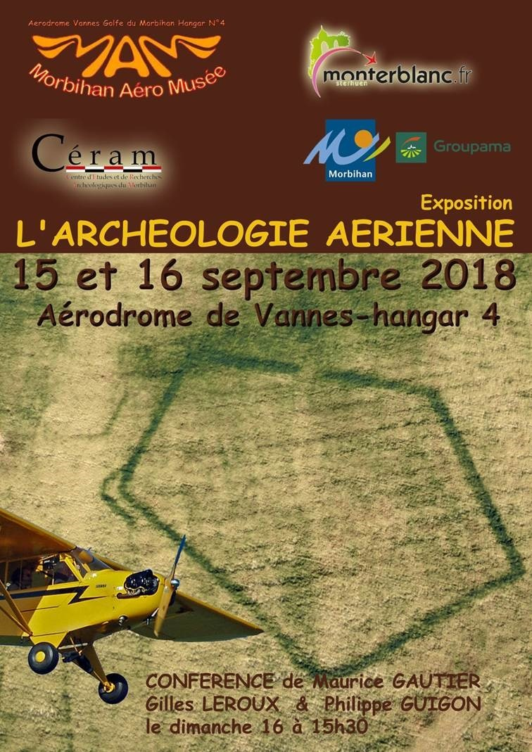 affiche expo archeo aerienne